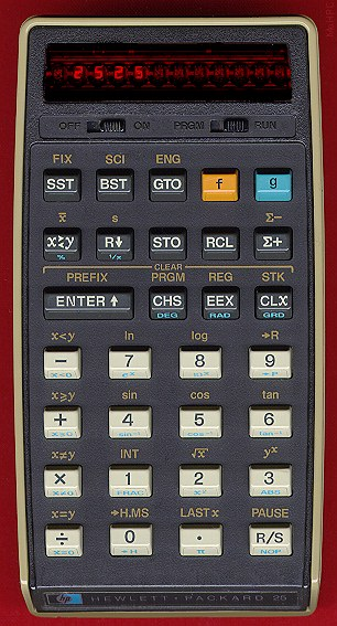 Calculatrice HP-25